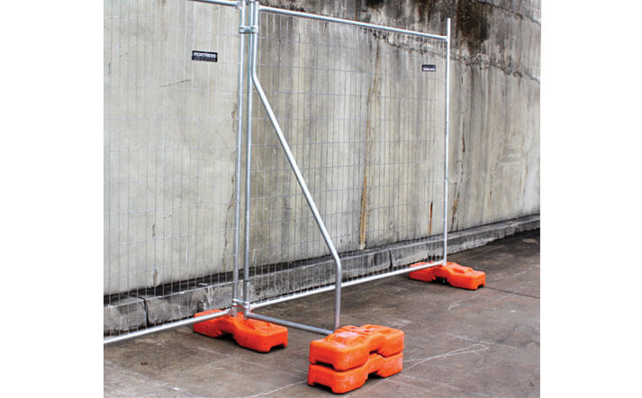 Temporary Fencing Bracing Stays