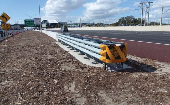 Concrete Crash Barrier Deltabloc
