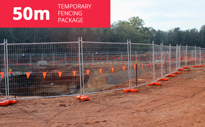 50m Temporary Fencing