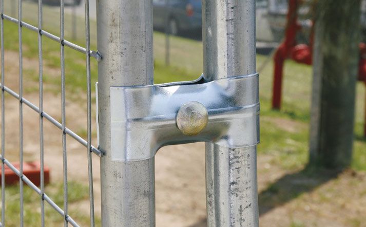 Temporary Fencing Clamps Couplers And Brackets Fortress
