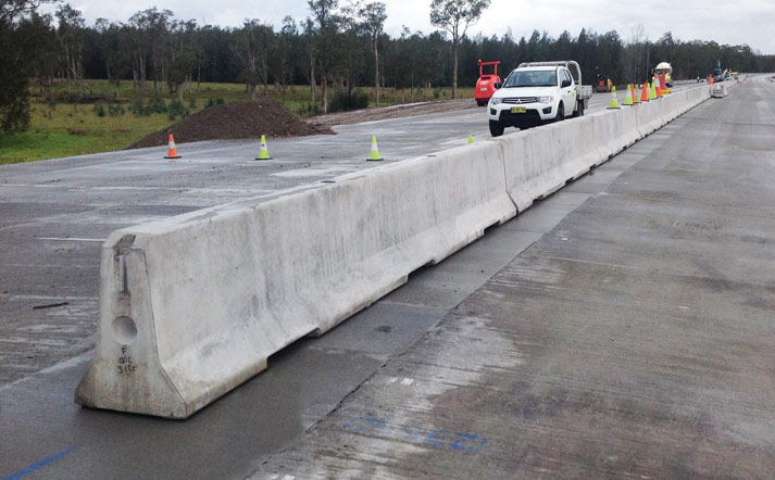 Concrete Crash Barrier Deltabloc Concrete Jersey Barrier