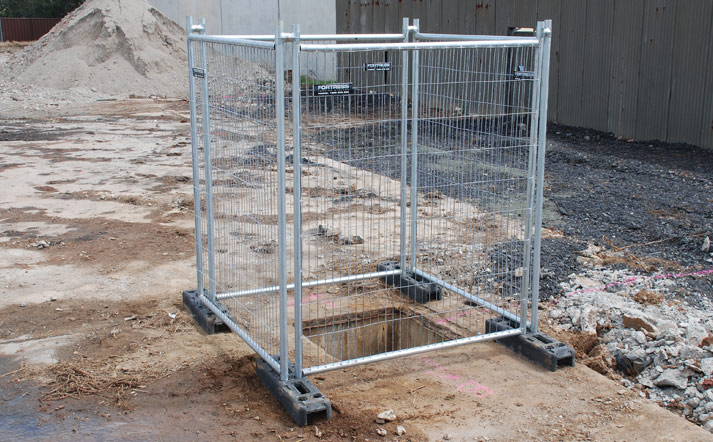 Temporary Fencing - Footpath Panels