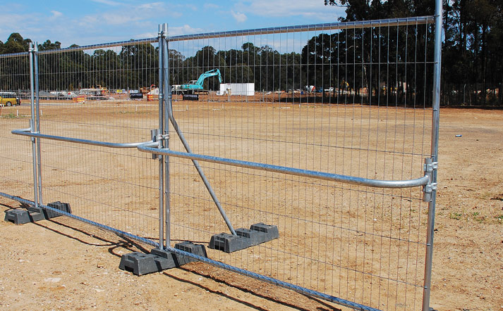Temporary Fencing Handrails Fortress Fencing