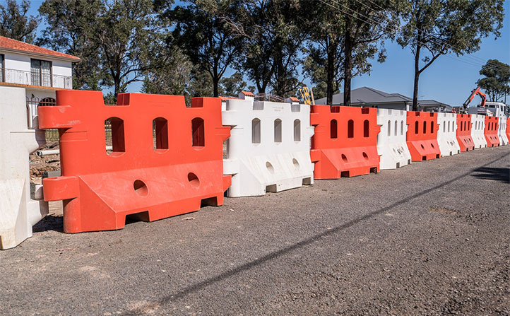 Zone-Block™ Barrier - Water Filled Barrier