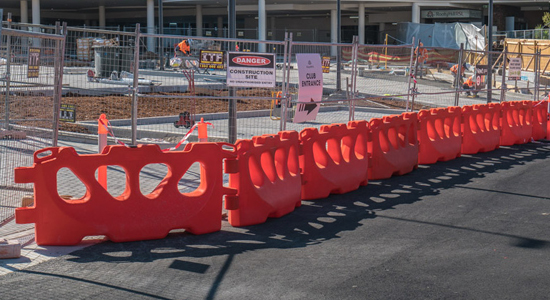 Rooty Hill Water Filled Barriers