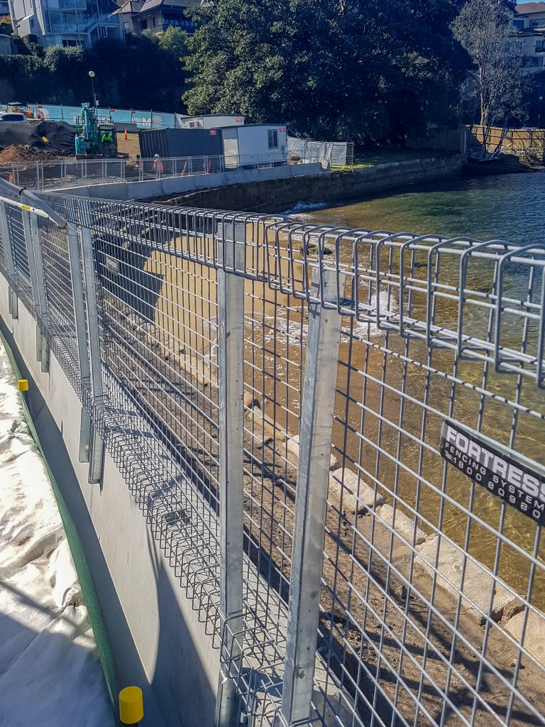 DeltaBloc jersey barriers and XT Edge Protection Sydney