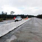 Highway barriers are a critical part of a safe site setup.