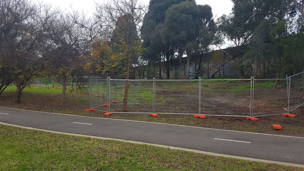 temporary fencing in Melbourne