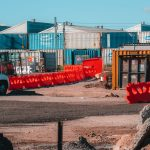 Trafix Water Barriers for Construction Site Protection