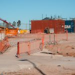 Pedestrian barriers for Perth work sites