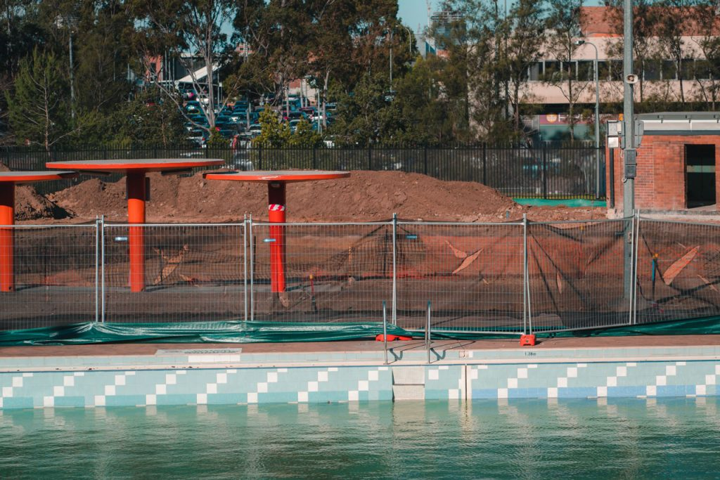 Pool fencing in Wentworthville