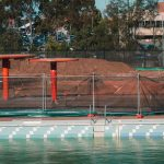 Fortress provides pool fencing for safety during construction