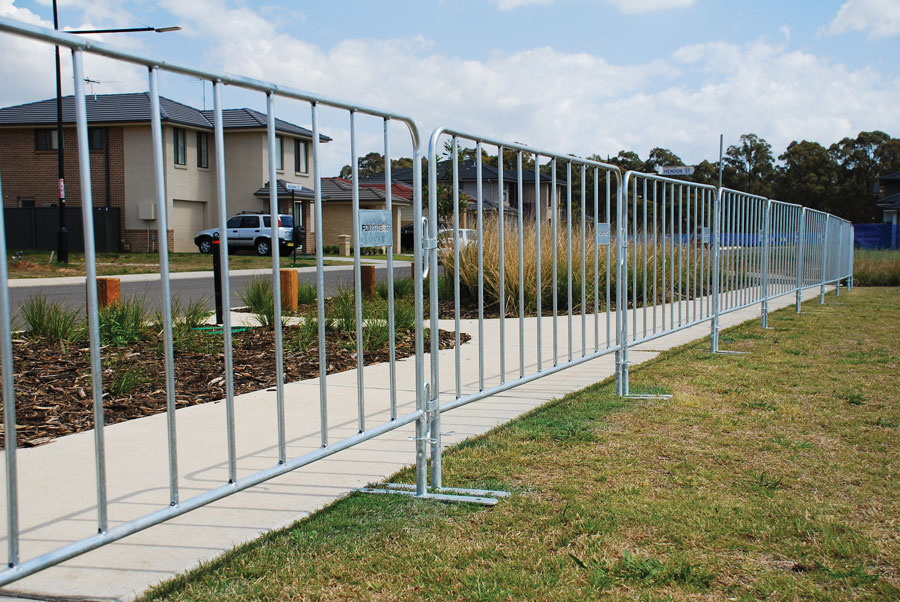 Temporary barriers for events