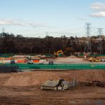 Water filled barriers for Data Centre in Sydney's West