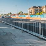 Crowd Control Barriers for WestConnex M4 East