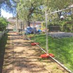Temporary Fence Panels for Windsor Bridge Replacement