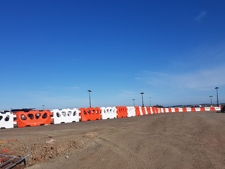 temporary water barriers