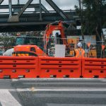 Lo-Ro Water Filled Barriers for WestConnex